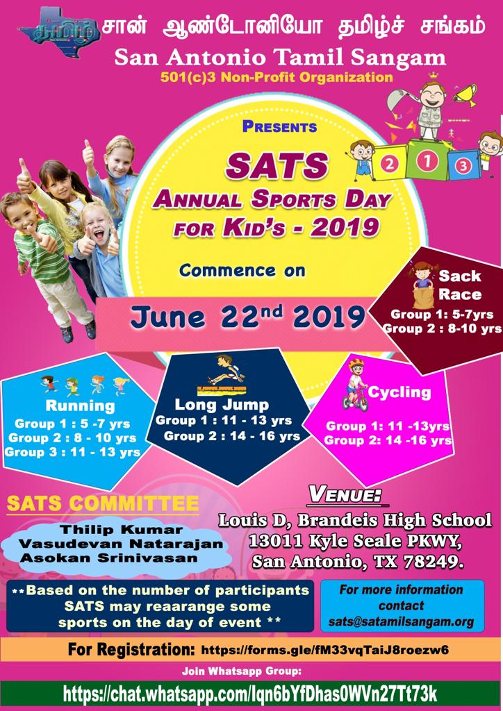 SATS Kids Tournament 2019