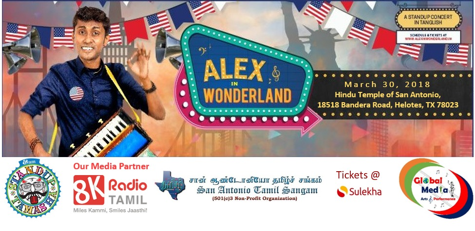 Alex in Wonderland Standup Comedy